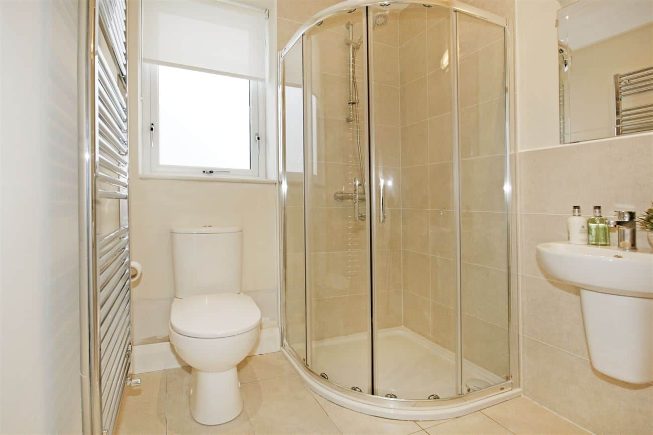 Complete bathroom renovation fitout in domestic tiling in home
